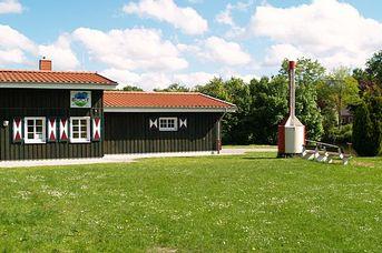 Paddel und Pedal Station