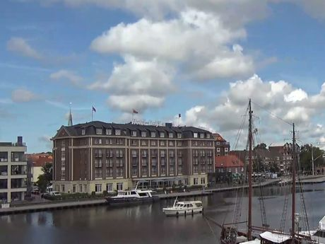 Webcam Alter Binnenhafen Emden