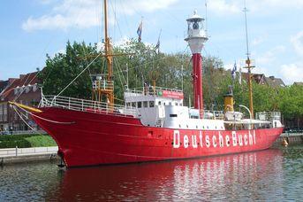 """Museumsfeuerschiff """"Amrumbank Deutsche Bucht"""""""